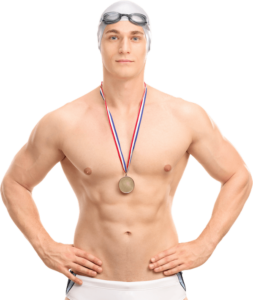 grab your swimming medals