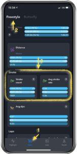 SWim-WiSe.app - tracks your swimming speed trends