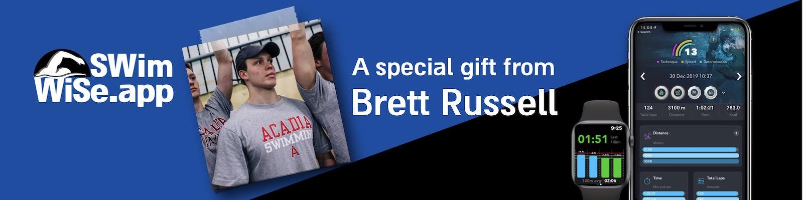 Brett Russell swim-wise